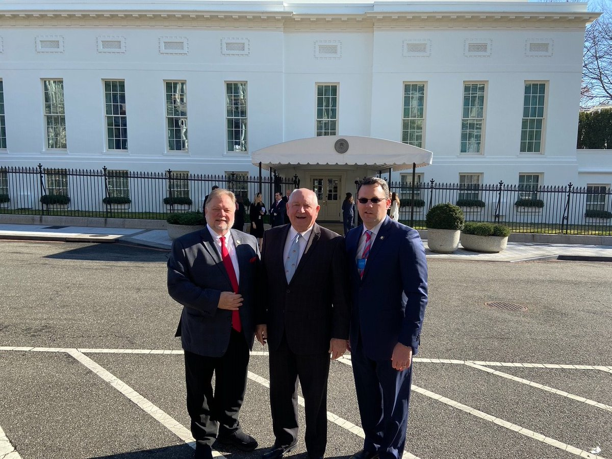 It was great to attend the @WhiteHouse today for a ceremony commemorating the signing of the Phase One Trade Agreement between the US and China. @SecretarySonny @realDonaldTrump