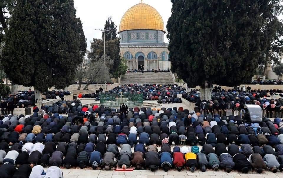 المركز الفلسطيني للإعلام   #صور مسجد قبة الصخرة المشرفة في ...