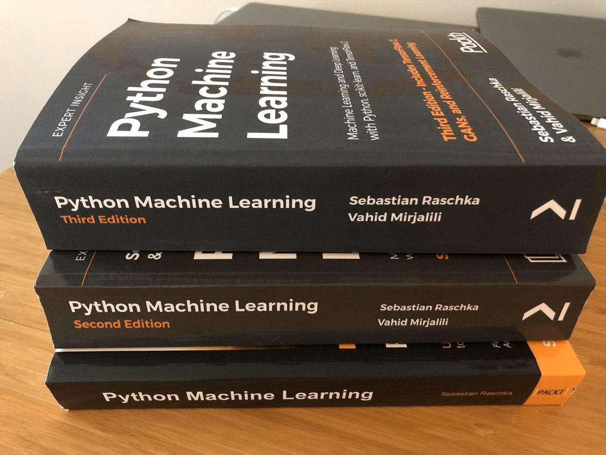 test Twitter Media - WOW! It's now here! 👉 #Python #MachineLearning — ML & #DeepLearning with Python, scikit-learn, & TensorFlow 2: https://t.co/pGHuNlOljS by @rasbt @vmirly @PacktPub ———— #BigData #DataScientists #Coding #DataScience #DataMining #AI #ReinforcementLearning #GANs #AppliedMathematics https://t.co/JEDFb8sB5p