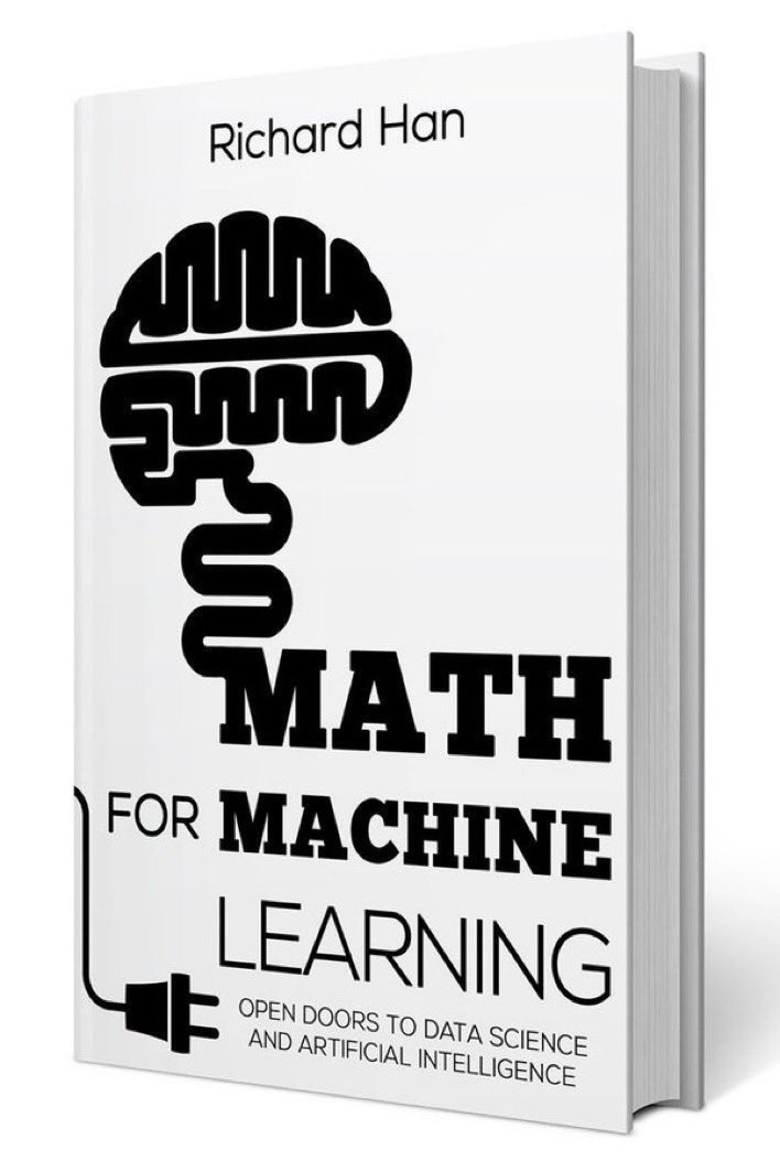 test Twitter Media - Math for #MachineLearning — Open Doors to #DataScience and Artificial Intelligence — get PDF eBook on The #Mathematics and #Statistics Foundations of #DataScience: 👉https://t.co/7lYeig5OhE👈 ———— #AI #DeepLearning #BigData #abdsc ——— ➕See the book here: https://t.co/FdPvE6PaOy https://t.co/BcagF8HzZ4