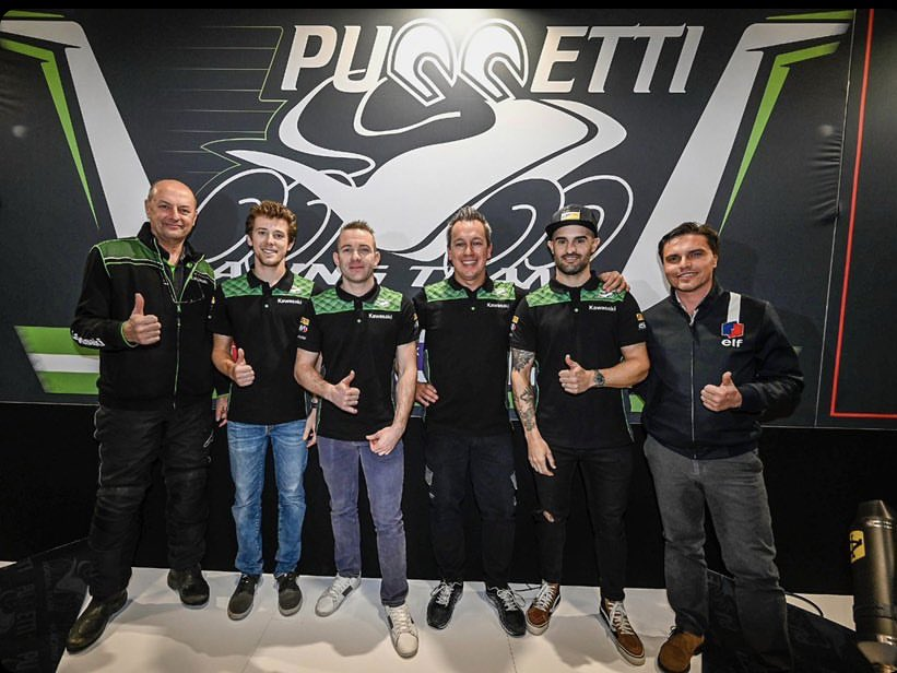 test Twitter Media - 🆕 @PuccettiRacing Team was officially launched at the Verona Motor Bike Expo! New riders, same goal 💪🏻#WordSBK https://t.co/LhfWFX8Lpw