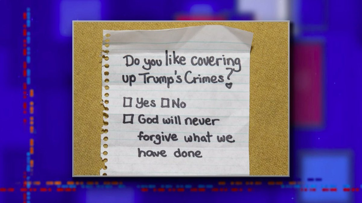 No electronics are allowed in the Senate chamber during the trial. It has caused some lawmakers to revert to more primitive means of communication like passing notes. We actually got our hands on one of the notes. #LSSC
