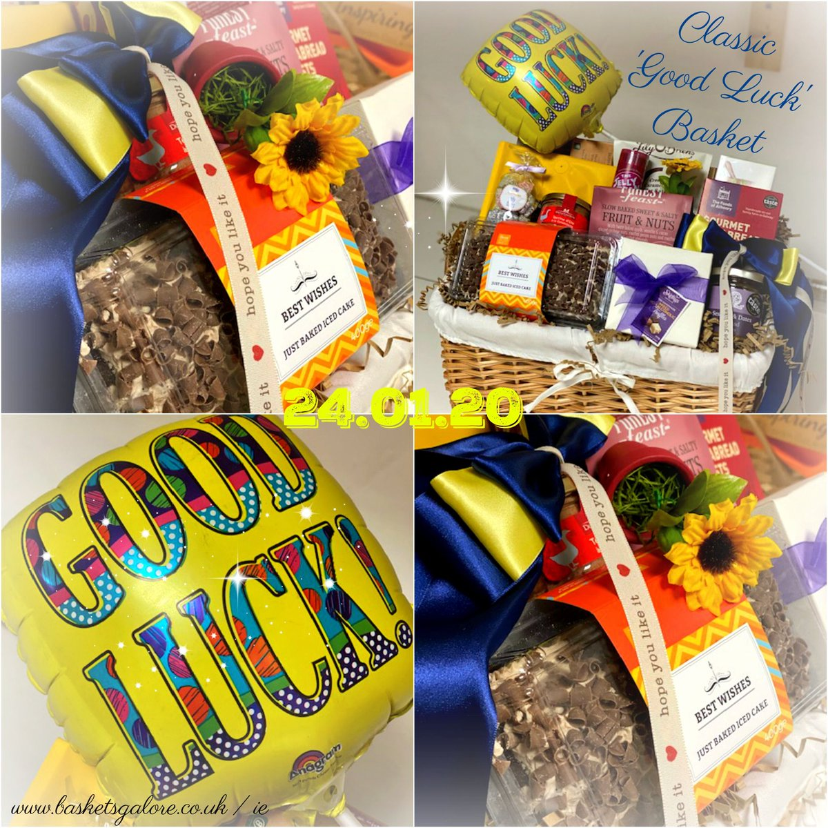 Today's Gift Basket Of The Day is .... Classic Good Luck >>  RT, Like & Follow to enter #prize draw to #win a Gift Basket. More info via our blog. #dailydispatch #gifts #competition #goodluck #classic #sweet #savoury