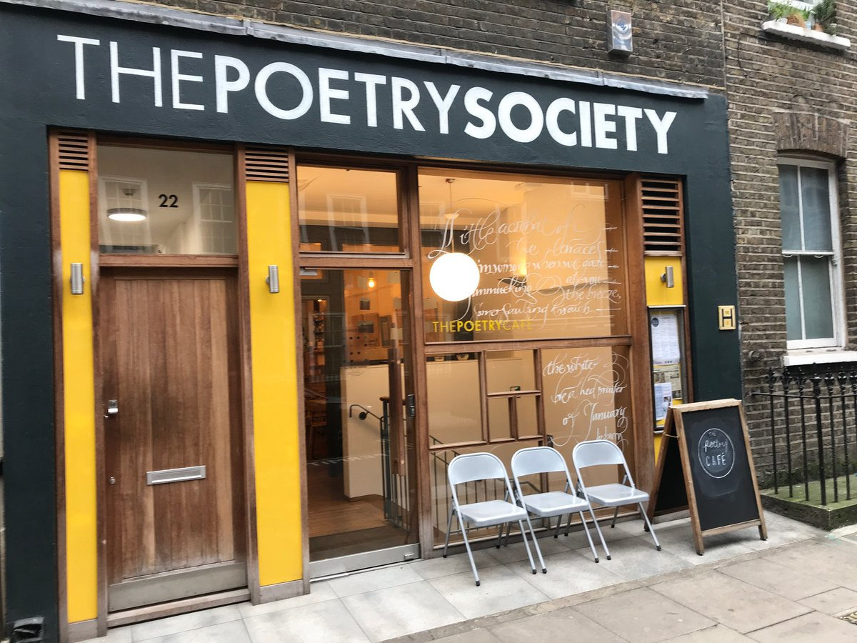 test Twitter Media - RT @PoetryExch: Where else, on a Saturday. Life is here. Life is poetry. (Good for meetings too!) @PoetrySociety https://t.co/u7A79i6nfZ