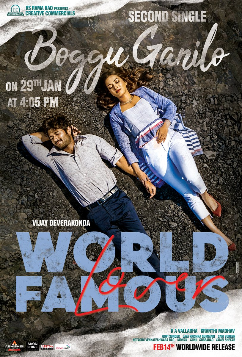 It's time for Song 2. #BogguGanilo  This Valentine's Day - #WorldFamousLover #WFL