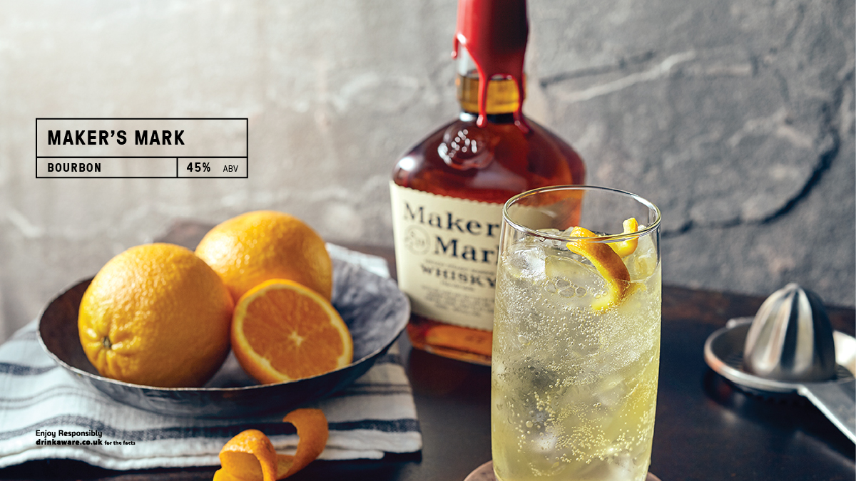 Never bitter or sharp, @MakersMarkis made with soft red winter wheat, instead of the usual rye, for a one-of-a-kind, full-flavored bourbon that's easy to drink. #whisky #highball  Read more here https://t.co/aN7ssAWdWN https://t.co/RLuh8hktg5