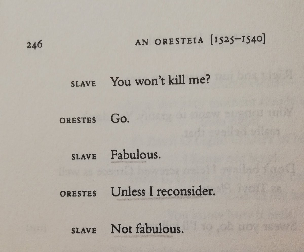 who said greek tragedies were not funny???