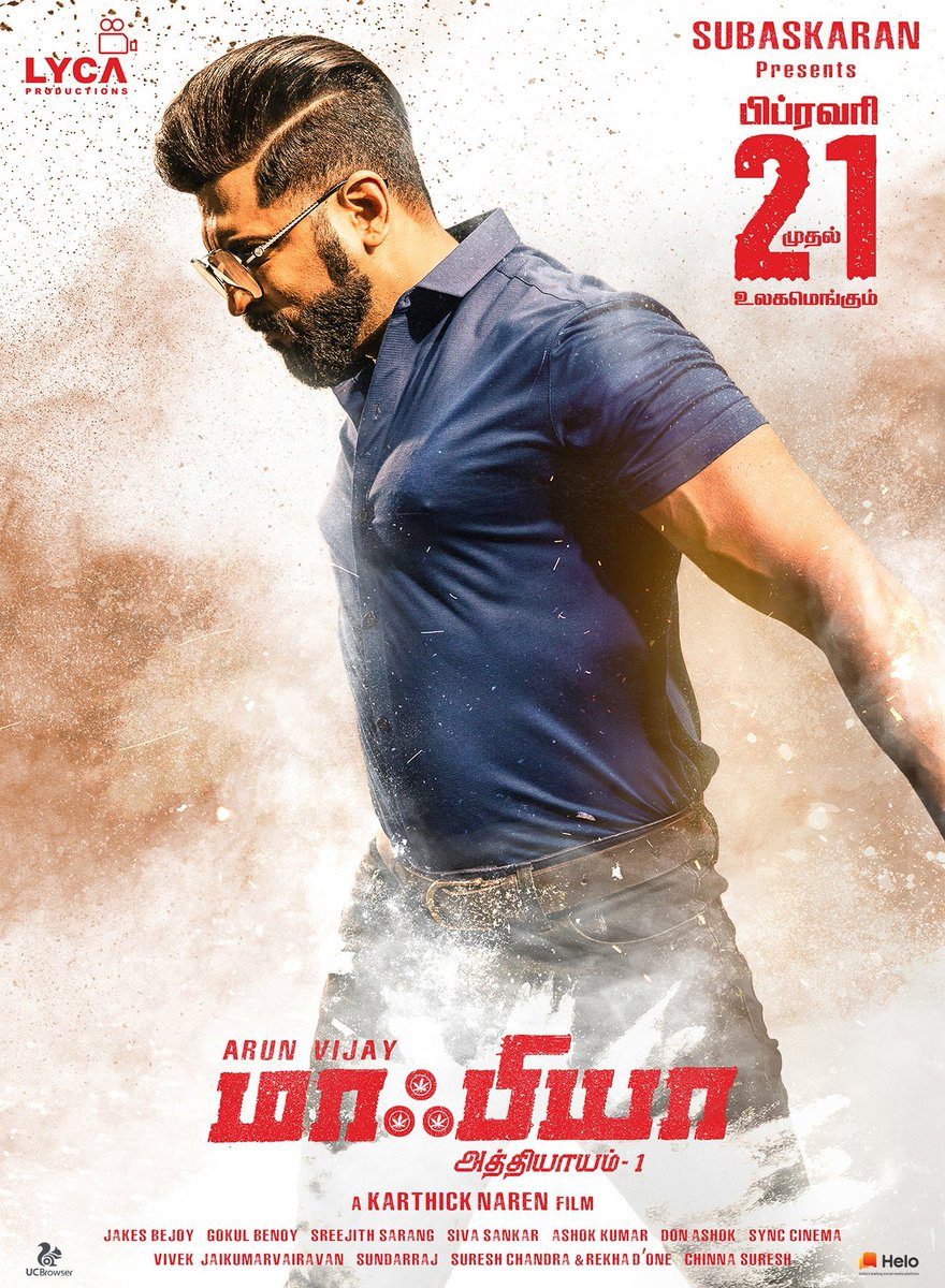 #MAFIA - Just 4 days to go for this @arunvijayno1 movie !! Trade already super positive about the content !!