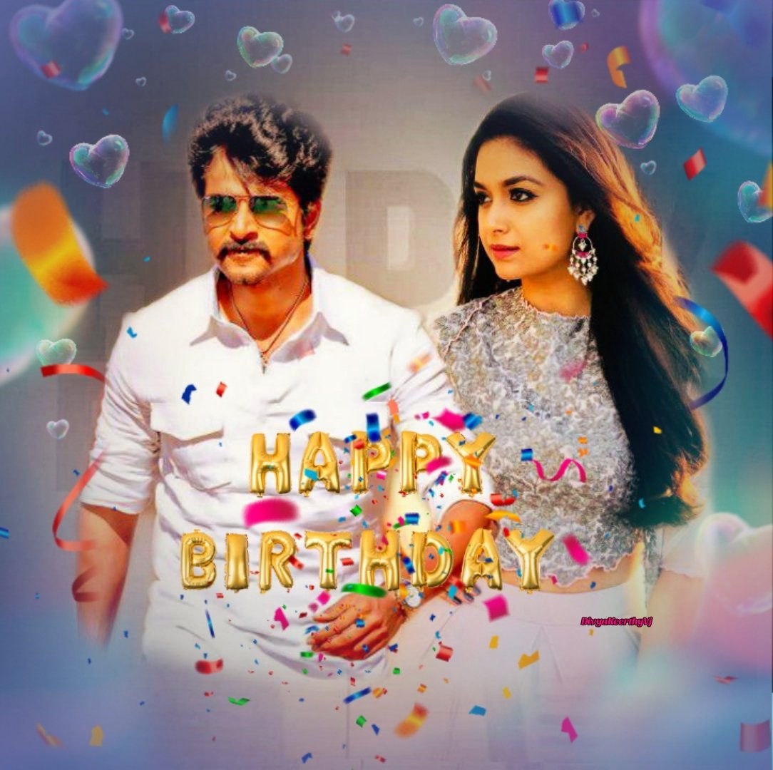 Wishing you a very very happy birthday to you my dear Anna @Siva_Kartikeyan 🍫💙  Beheluf on @KeerthyOfficial Fans 💗  #HBDPrinceSivaKarthikeyan