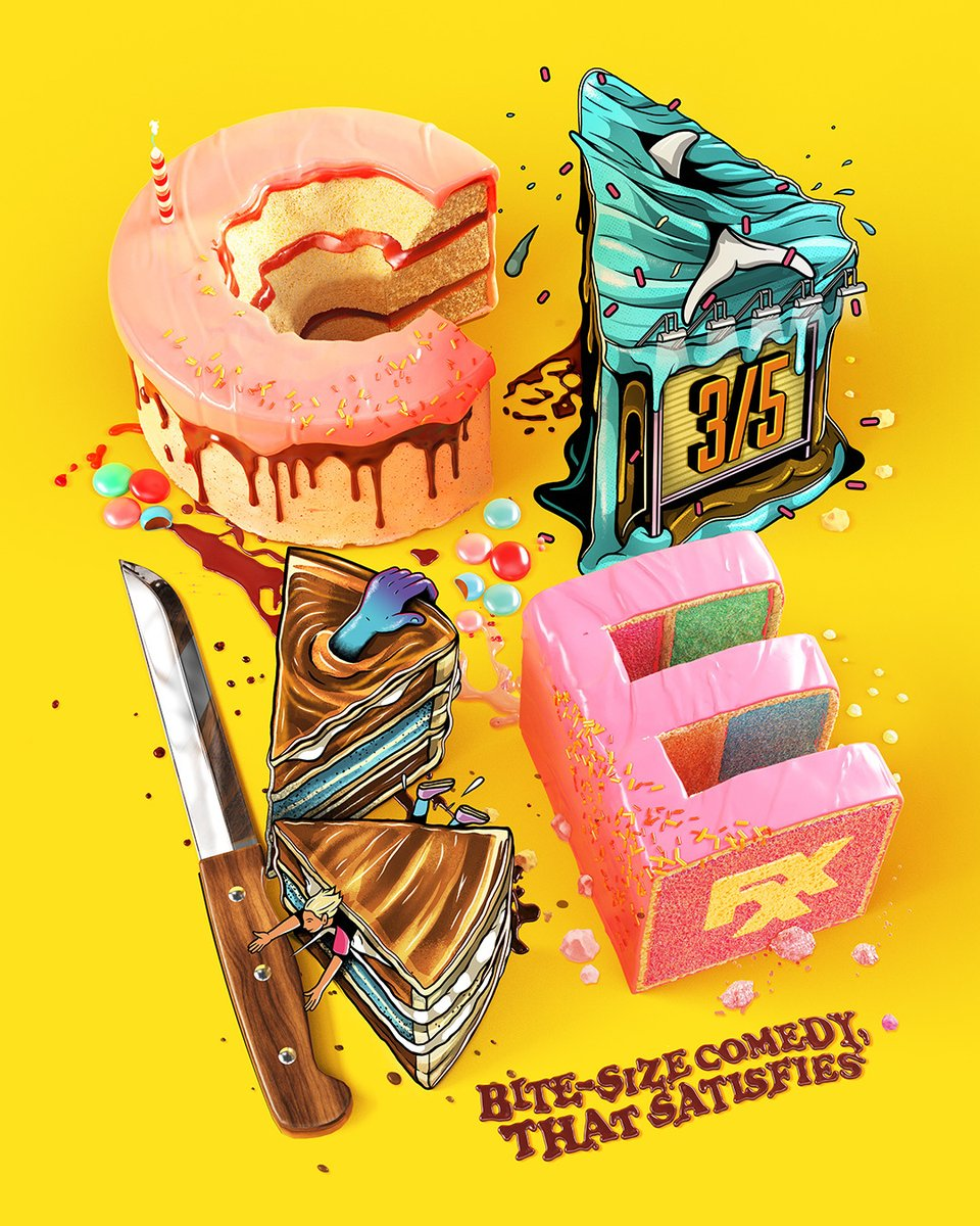 who wants seconds? enjoy a fresh batch of @CakeFX  march 5 on fxx & next day on #FXonHulu.