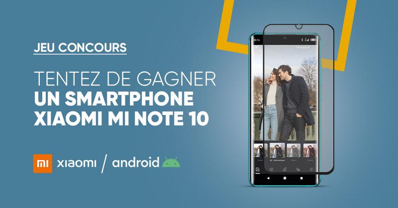 JEU CONCOURS 🎁 | Tentez de remporter le nouveau 📱 @XiaomiFrance #MiNote10 😍 ➡ Pour participer: RT + Follow @Fnac  > Bonne chance 😎 ! >>