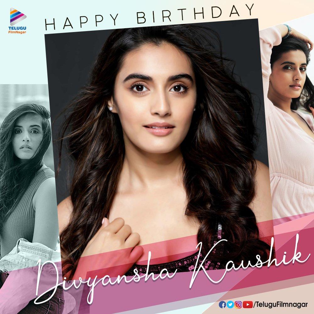 Here's wishing the gorgeous & talented @itsdivyanshak a very Happy Birthday 🎈🎉 Hope you'll have a great year ahead 🤗🤗 #HBDDivyanshaKaushik #DivyanshaKaushik #TeluguFilmNagar