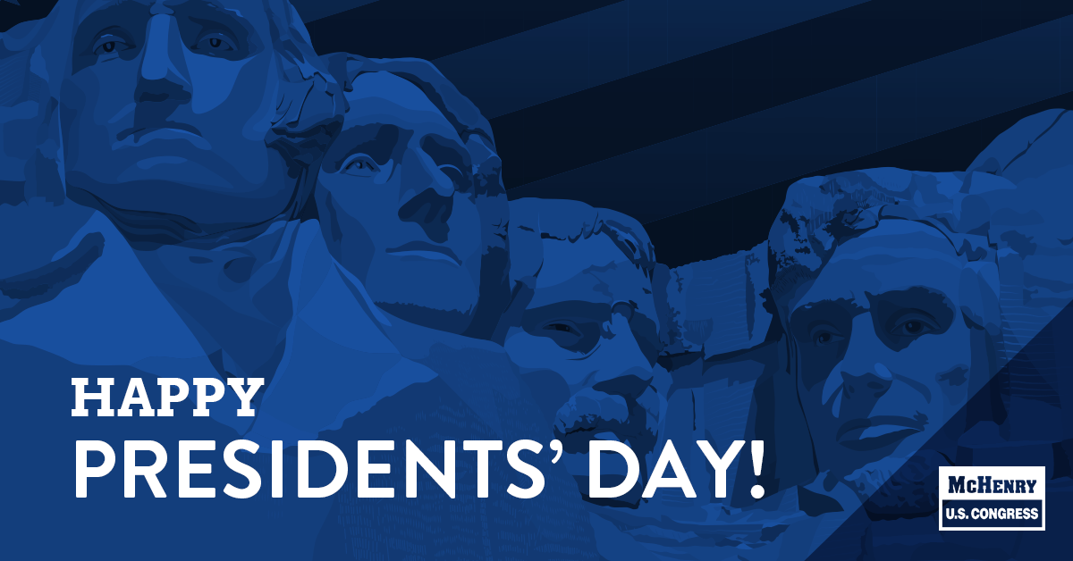 Happy Presidents' Day! Grateful for the leadership of those who have gone before us.