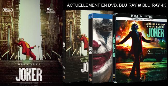 🎁🎁🎁 [CONCOURS] 🎁🎁🎁 Tentez de gagner un DVD et un BLU-RAY de Joker Le formulaire de participation -  ➡️ Follow + RT = +1 chance de gagner #Joker #Concours