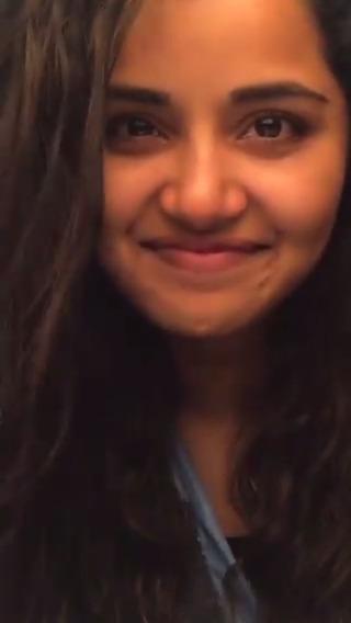 #HappyBirthdayAnupama Here is a Beautiful Tik Tok Video of @anupamahere !!  The Ever Green magic of #KaathalaeKaathalae !!