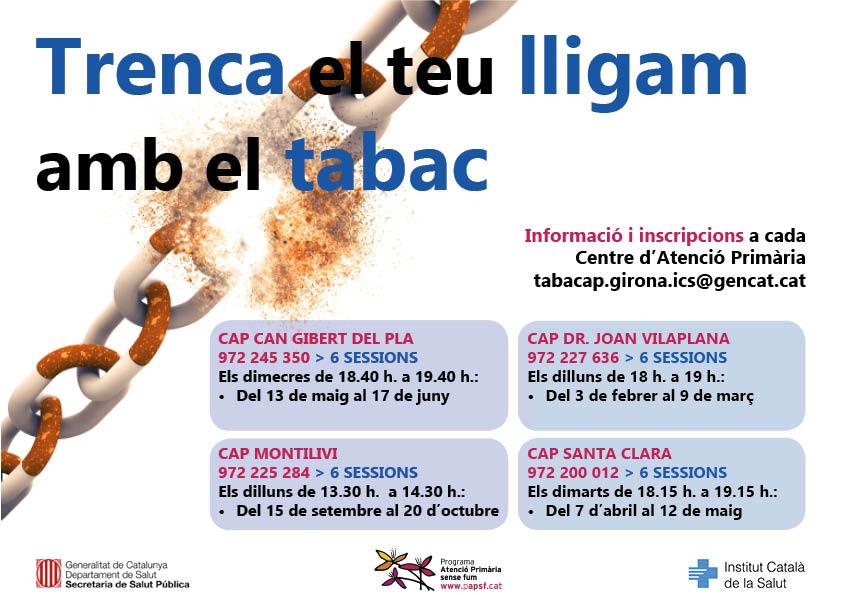 test Twitter Media - 📣 Ets de Girona i vols deixar de fumar? 📝Apunta't als Grups de Deshabituació Tabàquica a diferents CAP de GIRONA https://t.co/HhjZvuDmwZ https://t.co/xAea6dxOJK