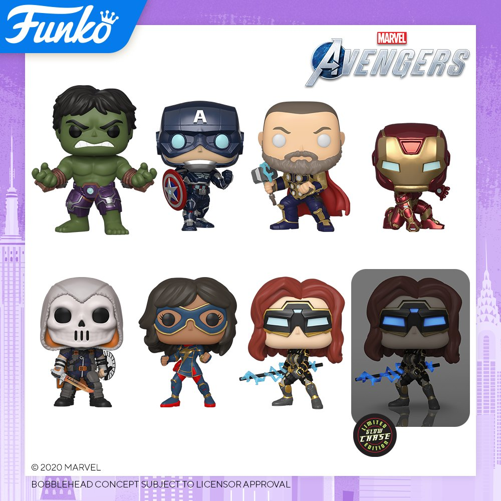 Toy Fair New York 2020 Reveals: Pop! Games - Marvel's Avengers!  @Marvel @PlayAvengers @Target @Walmart @amazon @BestBuy @MarvelGames #marvel #target #amazon #bestbuy #FunkoTFNY #Funko #Pop #FunkoPop #playavengers #reassemble #embraceyourpowers
