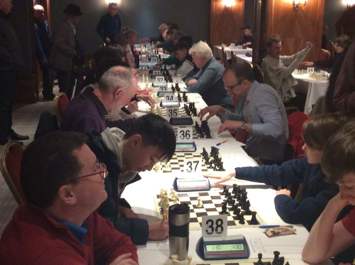 test Twitter Media - RT @bunrattychess1: And we're off #Bunratty2020 has officially started https://t.co/emr9tSjBrt