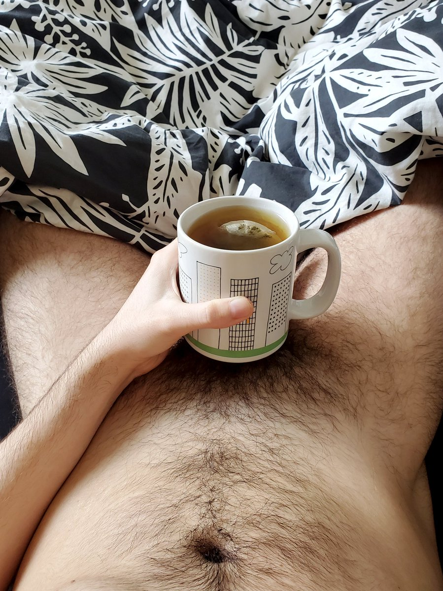 A cup of tea and a little cream to start the week