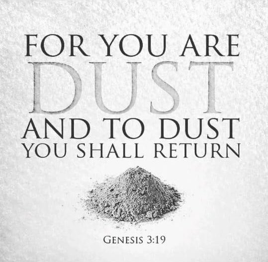 Glory to God😇❤️🙏🏻Wishing u all love & peace on the blessed Ash Wednesday😇