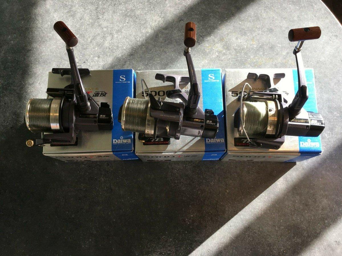 Ad - Daiwa Tournament-S 5000T Reels On eBay here --&<b>Gt;</b>&<b>Gt;</b> https://t.co/W81FlyFfwq  #
