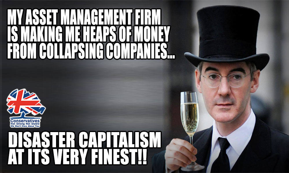 """Jacob Rees-Mogg is to make a fortune from the collapse of share prices during the covid crisis. Mogg's firm,Somerset Capital Management,says market volatility offers a """"once or twice in a generation"""" opportunity to make super-normal-returns    #marr #ridge"""