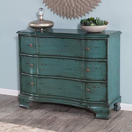Stein World Furniture Ilana Accent Chest, Vintage Turquoise Blue...