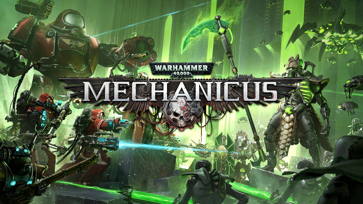 Join the Adeptus Mechanicus and lead your Tech-Priests to victory against the robotic Necrons in Warhammer 40,000: Mechanicus, a turn-based tactics game coming to #NintendoSwitch in May. #Mechanicus40k