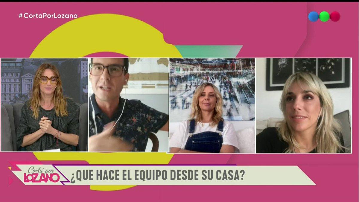 [#CortaPorLozano] ¡@peralta_nico, @evelynvbrocke y @tapettinato nos cuentan cómo pasan la cuarentena desde sus hogares! 👏🙌 ¡Mirá! 🙊 #YoMeQuedoEnCasa #JuntosPodemosLograrlo https://t.co/Mhob0QDzeq