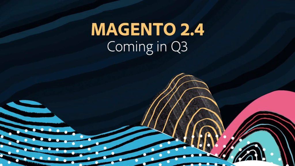 iShivbhadrasinh: #Magento 2.4 will be released in Q3  #AdobeSummit https://t.co/FmGEsHscL6