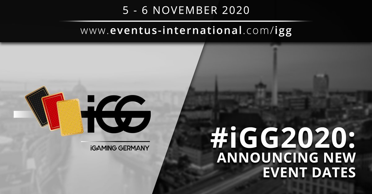 test Twitter Media - As part of an overall revision of their 2020 events calendar, taking into account travel bans and the current situation in Europe, Eventus International has moved the dates for iGG (iGaming Germany) 2020.  Register now: https://t.co/KJKl7ERCIR  #iGG2020 #igaming #igaminggermany https://t.co/QT34gFB9L2