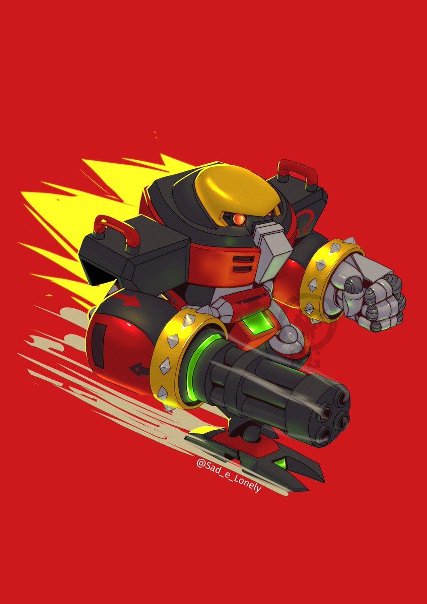 E-123 Omega que fiz para o collab do Sonic do @aryelsereio #sonicollab #sonicollab2020