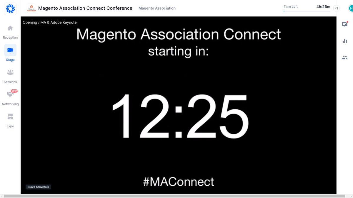 navindbhudiya: #MAConnect @AdobeSummit @Magento https://t.co/hVIaNsGY50