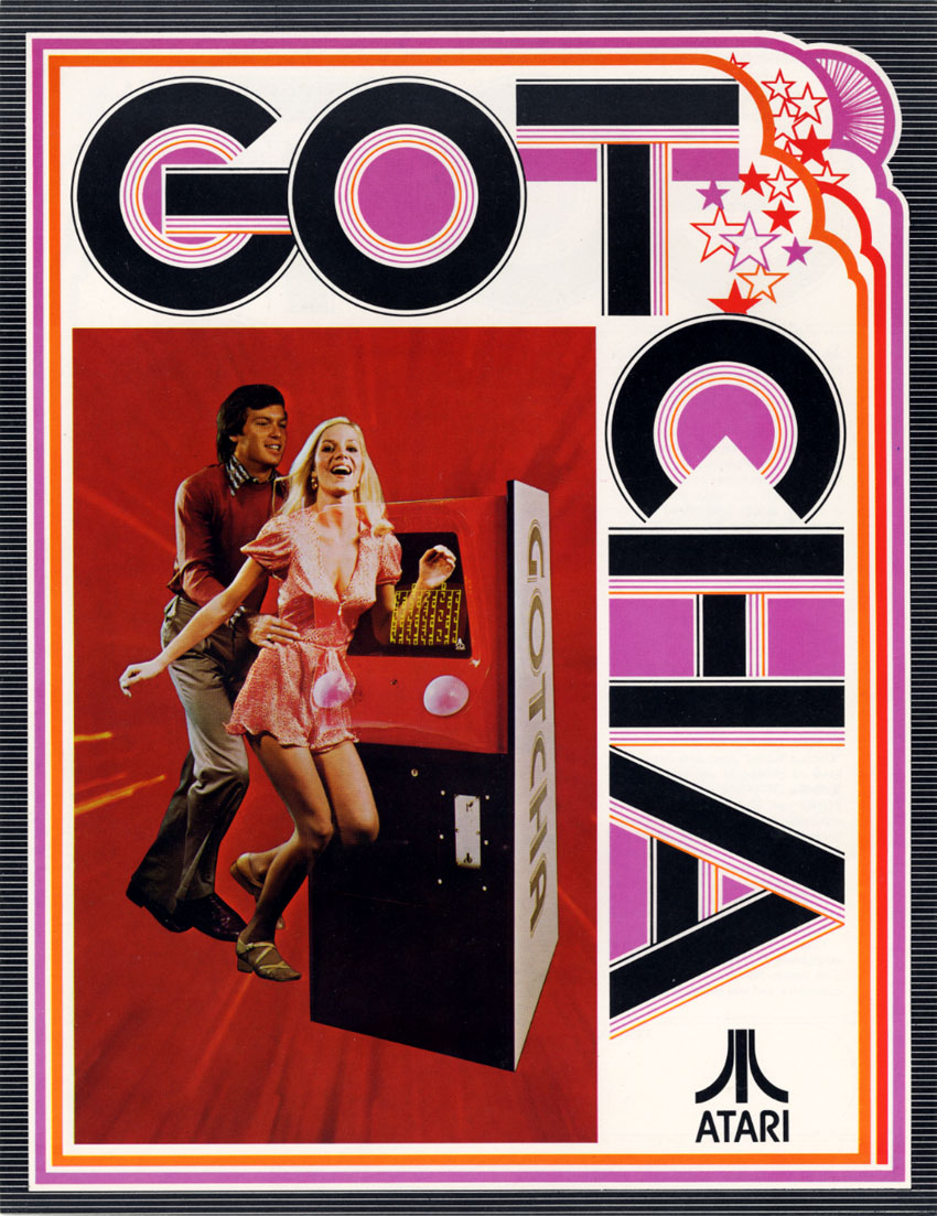 test Twitter Media - Arcade Flyer of the Day! 👾  Title: Gotcha Manufacturer: Atari Region: USA Year: 1973 https://t.co/7V0qF0aovh