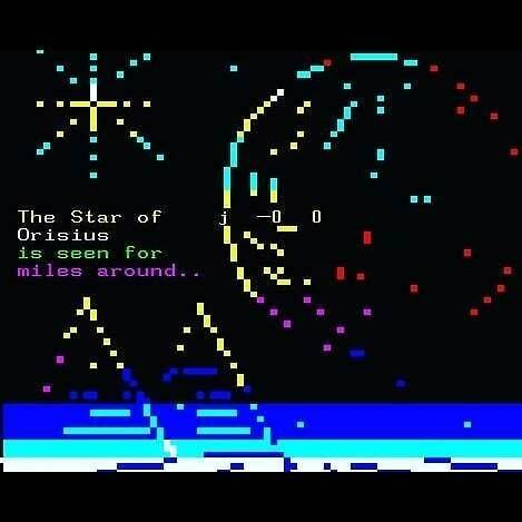 test Twitter Media - Mistigram: this stark #teletext landscape of the Star of Orisius was drawn by @blippypixel and included in last month's science fiction-themed MIST0520 artpack collection. https://t.co/wHF8ufsku2 https://t.co/EqMrOBlOlF