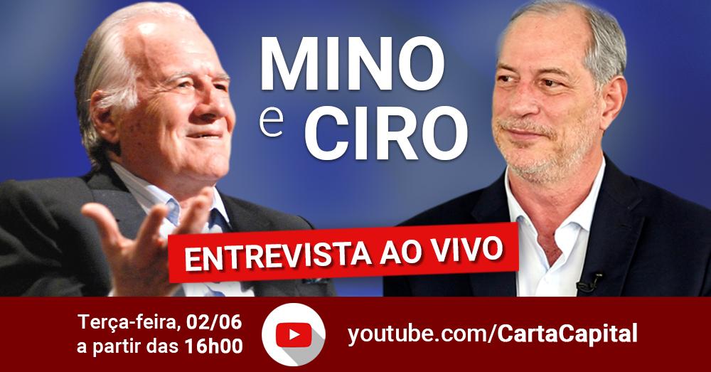 Amanhã vou conversar com o jornalista Mino Carta, no canal da @CartaCapital no YouTube. Será ao vivo, às 16h. Deixe marcado o horário da live e participe!