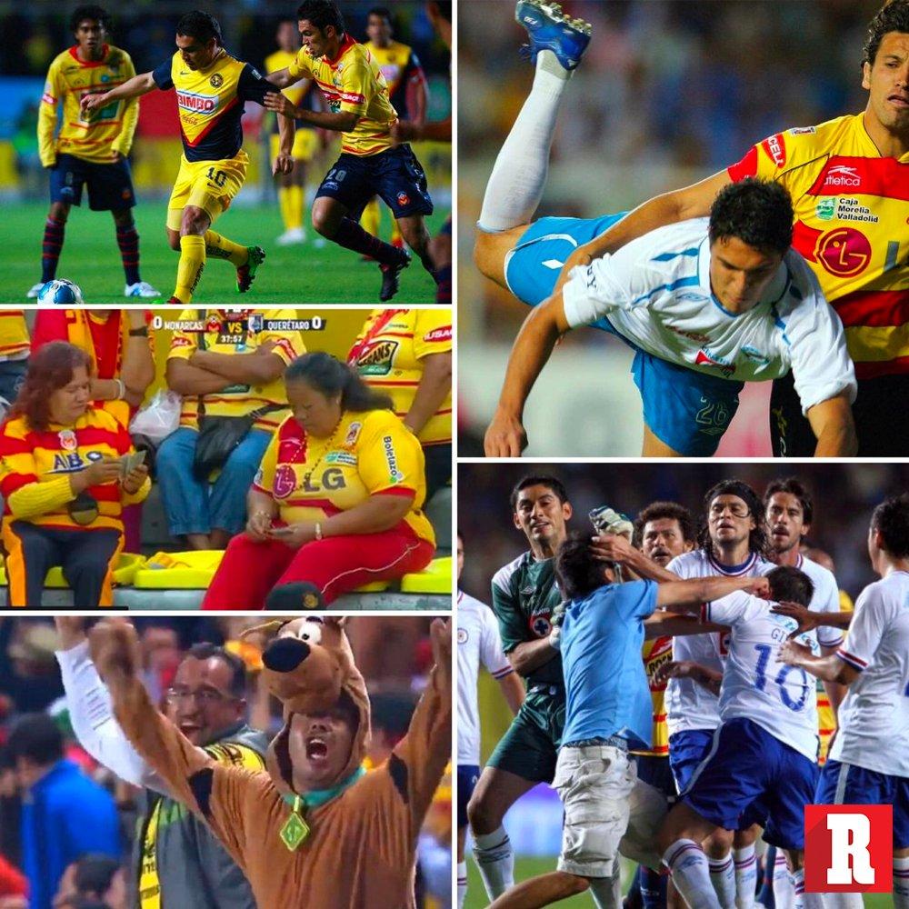 ¡MOMENTOS ÉPICOS!  El Estadio Morelos fue testigo de momentos sublimes del futbol mexicano.   El último partido de Cabañas, las señoras jugando baraja en el partido, el gol de escorpión de Landin, el Scooby Doo de Shaggy, la pelea entre Cruz Azul y Morelia.  Te vamos a extrañar.