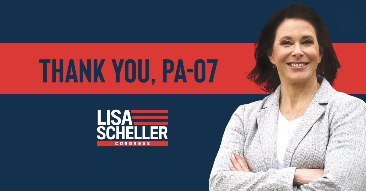 #PA07 – Thank you! Our campaign to protect the American Dream took a GIANT step – but our work is far from done. Our fight is only just beginning. It's time to elect a STRONG leader for the Lehigh Valley, and I'm ready to be that congresswoman. Join me:
