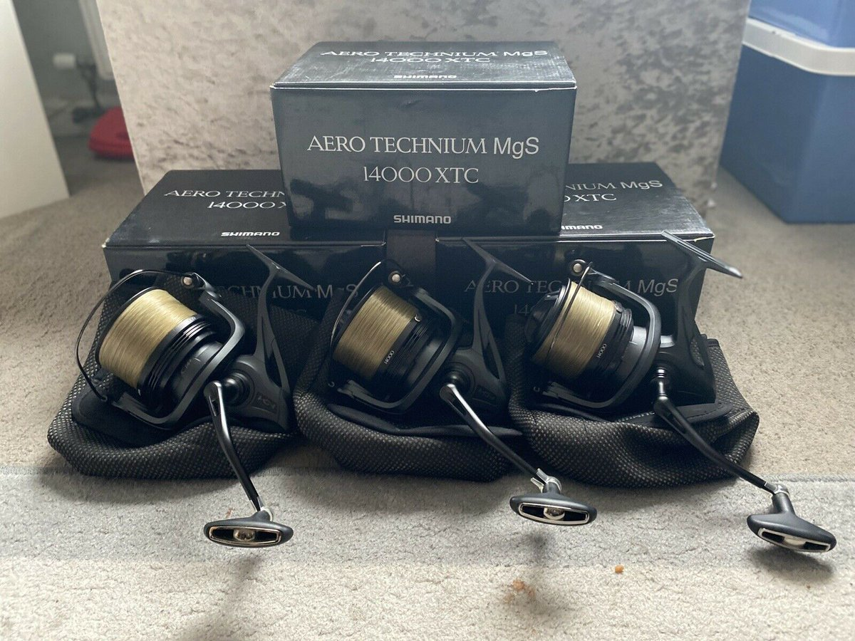 Ad - Shimano Technium MgS XTC 1400 On eBay here -->> https://t.co/tcxcEbCYBN  #carpfishing #fi