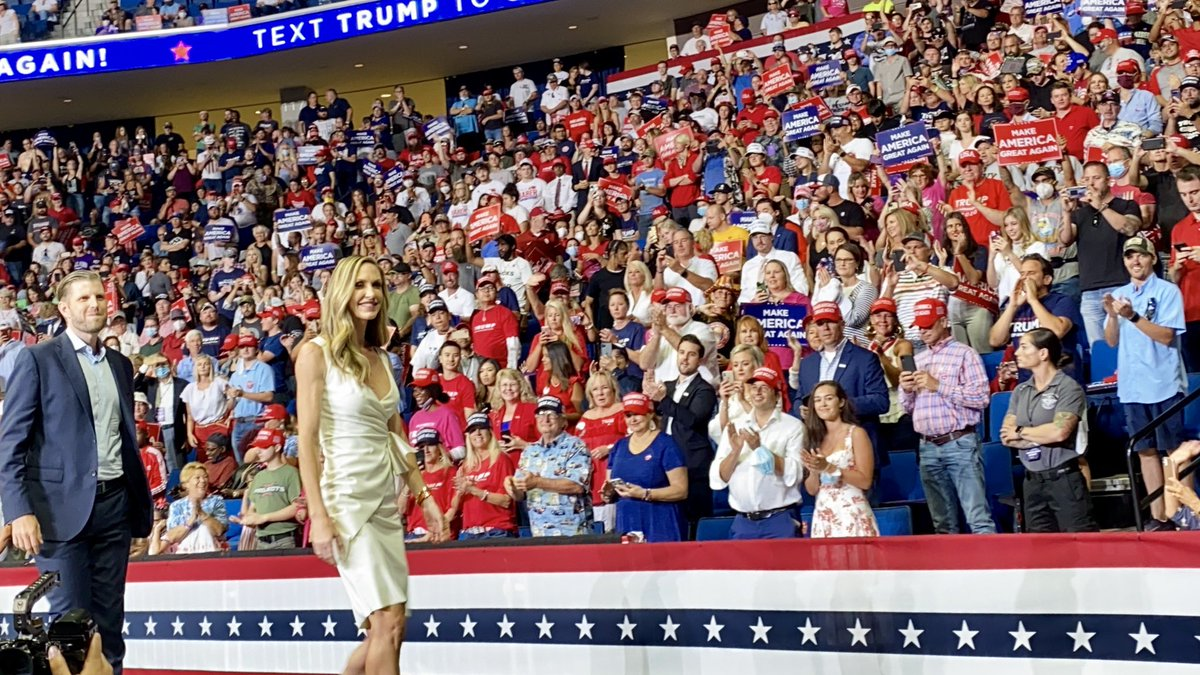 Oklahoma is ready for November and four more years! @EricTrump @LaraLeaTrump for the win! #maga
