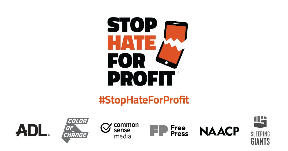 What could Facebook do with its $70B in ad revenue? Could they protect & support Black users? Could they call out Holocaust Denial as hate? They absolutely could. But they are actively choosing not to. Join us. Tell Facebook it's time to #StopHateForProfit
