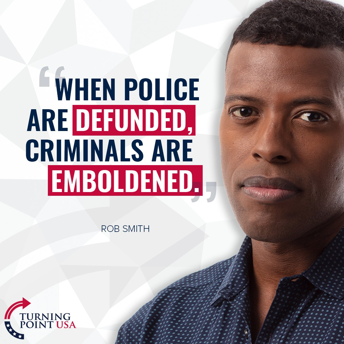 YUP, @robsmithonline! We Need To DEFEND Good Cops, Not Defund Them! #ThinkForYourself