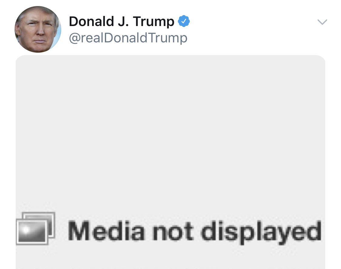 NEW: Twitter removes meme from Trump tweet after The New York Times, which owns the rights to the photo, filed a complaint - @axios