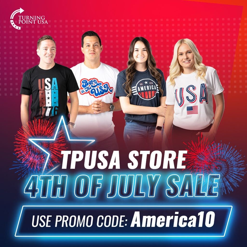 HUGE STOREWIDE SALE!  Show Off Your American Pride In Style! Use Discount Code America10 Now Through July 4th For 10% Off Your ENTIRE Order 🇺🇸🇺🇸🇺🇸  Don't Miss Out! ➡️