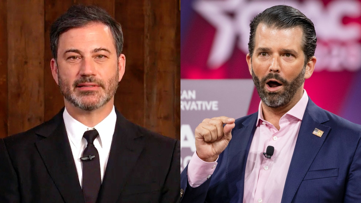 Trump Jr. Calls Out ABC, Jimmy Kimmel Over 'N-Word' Tape: 'Hard To See How ABC' Lets Him Keep His Job