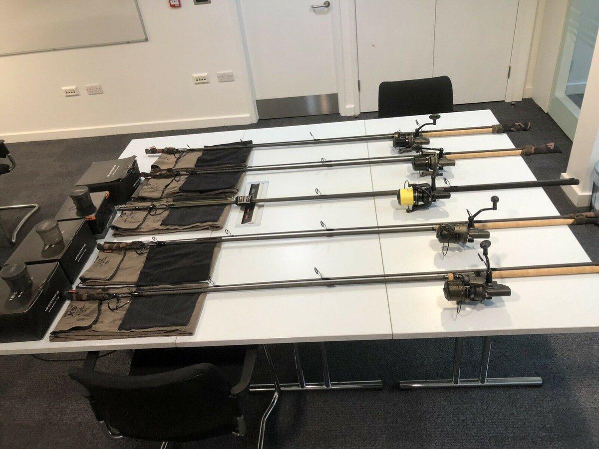Ad - Full Fox Carp Rod & Reel Setup - 5 rods On eBay here -->> https://t.co/iLH4KWNv0B  #c