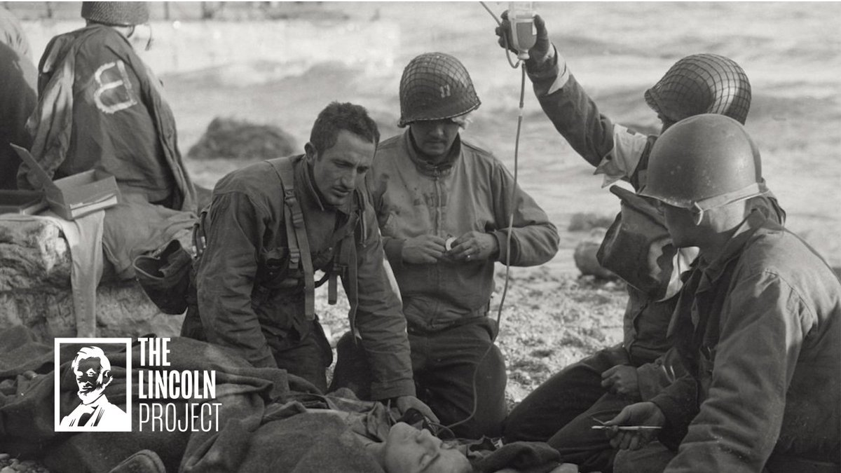 The Greatest Generation sacrificed everything for our country. But @realDonaldTrump wants to sacrifice them for the economy when they're in their greatest time of need.