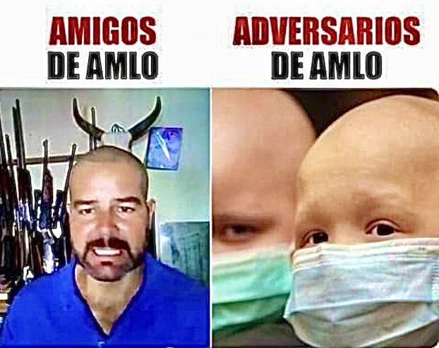 😷 #narcos #cáncer                                             [En las redes]: