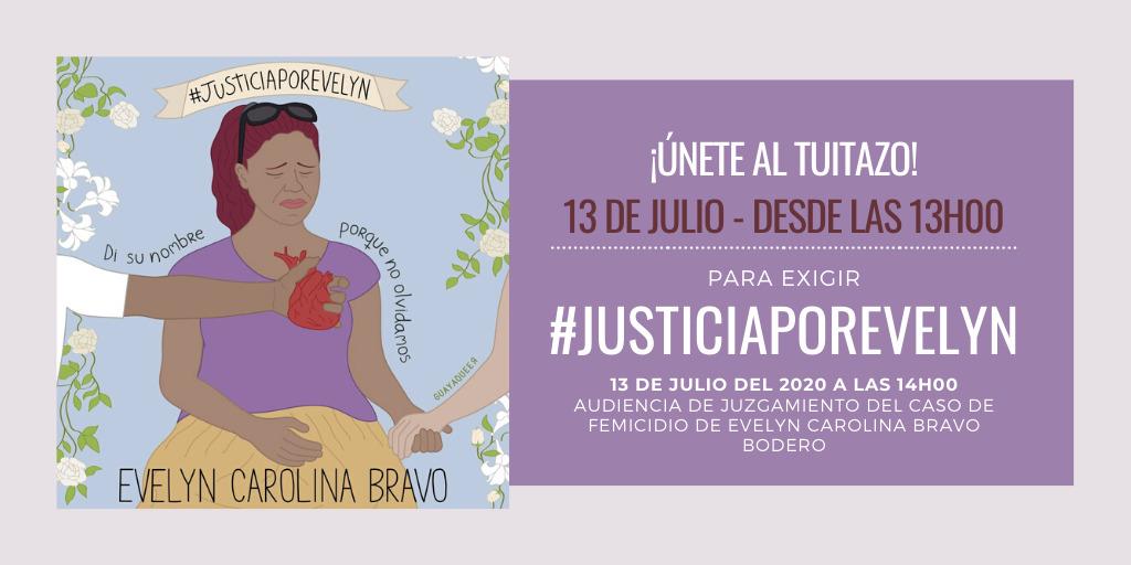 Queremos viver! Exigimos #JusticiaPorEvelyn!