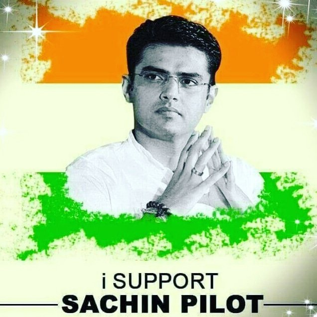 I am with my leader in every situation, no matter what. I am with @SachinPilot Ji 🙏  #SachinPilotKeSaath